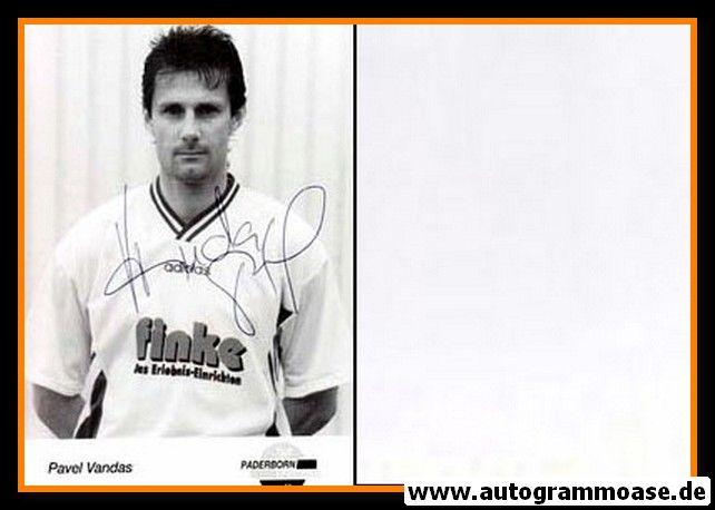Autogramm Fussball | SC Paderborn 07 | 1995 | Pavel VANDAS