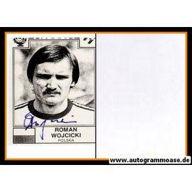 Autogramm Fussball | Polen | 1982 WM | Roman WOJCICKI (Portrait SW)