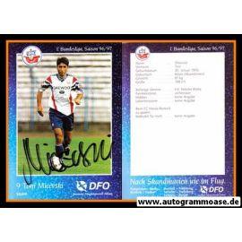 Autogramm Fussball | Hansa Rostock | 1996 | Toni MICEVSKI