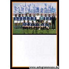 Mannschaftskarte Fussball | FK Pirmasens | 1970er Druck + 17 AG