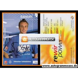 Autogramm Fussball | VfL Bochum | 2002 DWS | Sebastian SCHINDZIELORZ