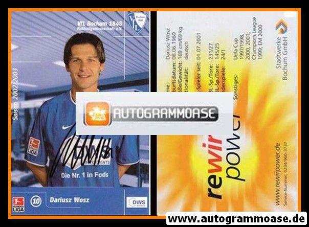 Autogramm Fussball | VfL Bochum | 2002 DWS | Dariusz WOSZ