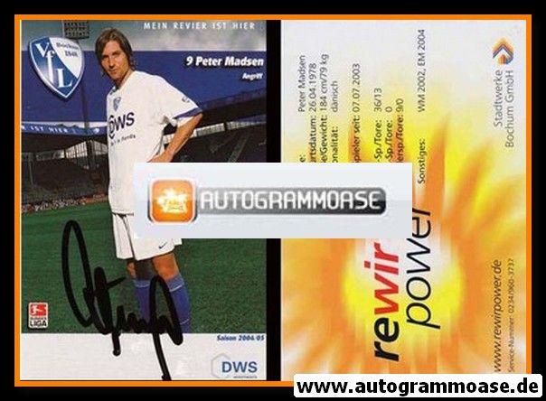 Autogramm Fussball | VfL Bochum | 2004 | Peter MADSEN