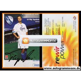 Autogramm Fussball | VfL Bochum | 2004 | Filip TAPALOVIC