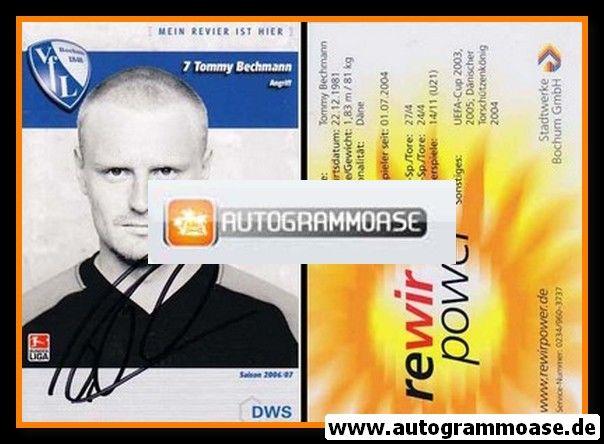 Autogramm Fussball | VfL Bochum | 2006 | Tommy BECHMANN