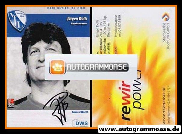 Autogramm Fussball   VfL Bochum   2006   Jürgen DOLLS