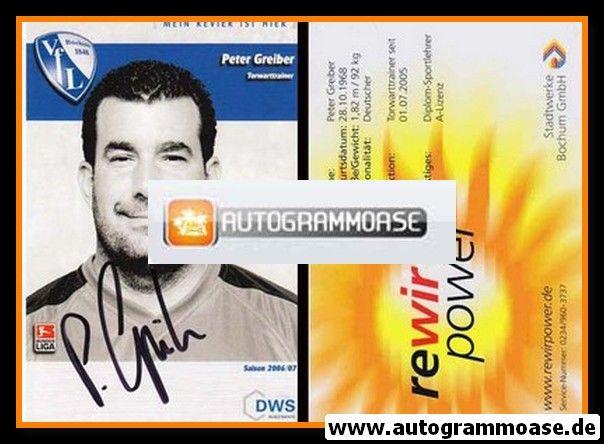 Autogramm Fussball | VfL Bochum | 2006 | Peter GREIBER
