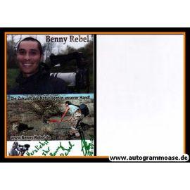 Autogramm Fotografie | Benny REBEL | 2000er Foto (Fotografie)