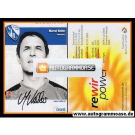 Autogramm Fussball | VfL Bochum | 2006 | Marcel KOLLER