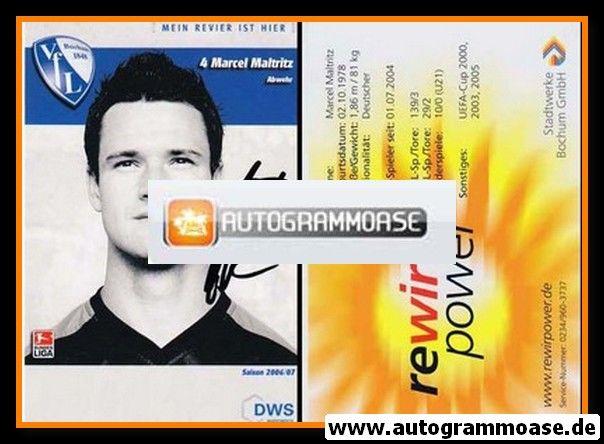 Autogramm Fussball | VfL Bochum | 2006 | Marcel MALTRITZ
