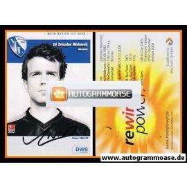 Autogramm Fussball | VfL Bochum | 2006 | Zvjezdan MISIMOVIC