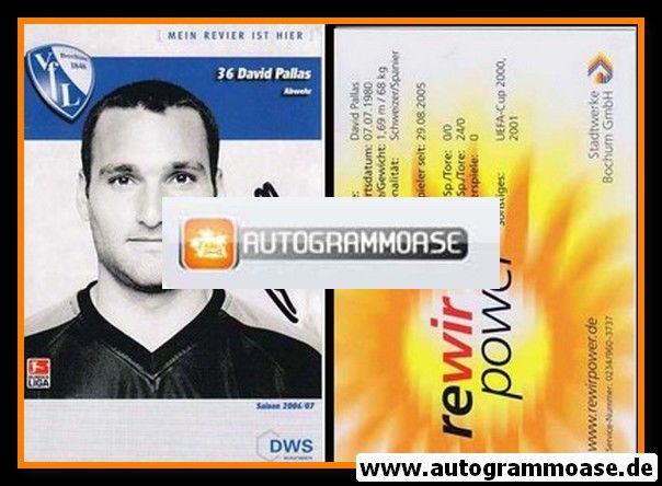 Autogramm Fussball | VfL Bochum | 2006 | David PALLAS