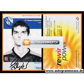 Autogramm Fussball | VfL Bochum | 2006 | Thomas RATHGEBER