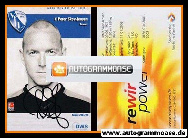 Autogramm Fussball   VfL Bochum   2006   Peter SKOV-JENSEN