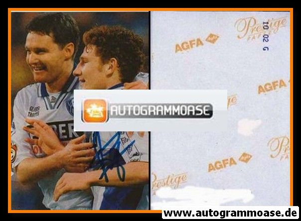 Autogramm Fussball | VfL Bochum | 2000 Foto | Paul FREIER (Jubelszene mit Toplak)