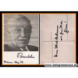 Autogramm   ??? Brannbelram   1970er (Portrait SW) 2021-00026