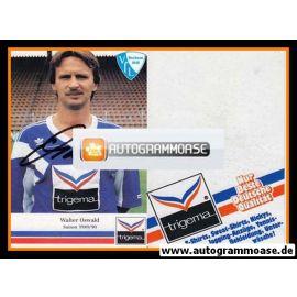 Autogramm Fussball | VfL Bochum | 1989 | Walter OSWALD (Trigema)