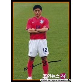 Autogramm Fussball   Südkorea   2006 WM Foto   Young-Pyo LEE