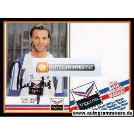 Autogramm Fussball | Hertha BSC Berlin | 1991 | Theo GRIES