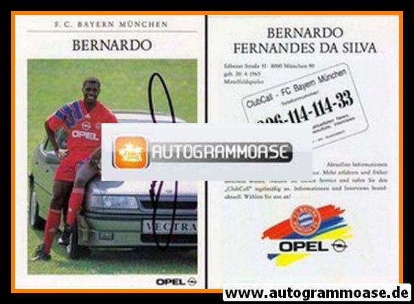 Autogramm Fussball | FC Bayern München | 1991 | BERNARDO
