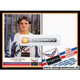 Autogramm Fussball | Hertha BSC Berlin | 1991 | Sven KRETSCHMER
