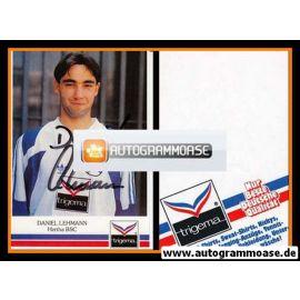 Autogramm Fussball | Hertha BSC Berlin | 1991 | Daniel LEHMANN