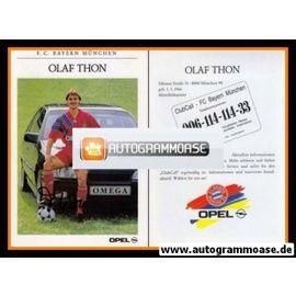 Autogramm Fussball | FC Bayern München | 1991 | Olaf THON