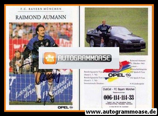 Autogramm Fussball | FC Bayern München | 1992 | Raimond AUMANN
