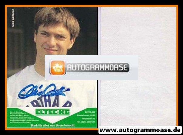 Autogramm Fussball | Hertha BSC Berlin | 1989 | Mika AALTONEN