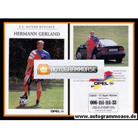 Autogramm Fussball | FC Bayern München | 1992 | Hermann GERLAND