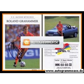 Autogramm Fussball | FC Bayern München | 1992 | Roland GRAHAMMER