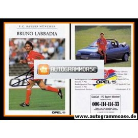 Autogramm Fussball | FC Bayern München | 1992 | Bruno LABBADIA