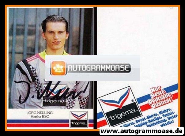 Autogramm Fussball   Hertha BSC Berlin   1991   Jörg NEULING