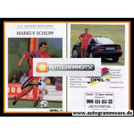 Autogramm Fussball | FC Bayern München | 1992 | Markus SCHUPP