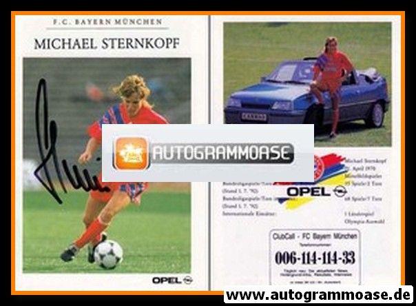 Autogramm Fussball | FC Bayern München | 1992 | Michael STERNKOPF