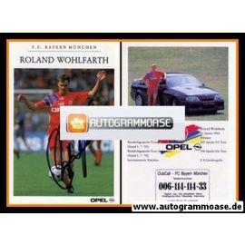 Autogramm Fussball | FC Bayern München | 1992 | Roland WOHLFARTH