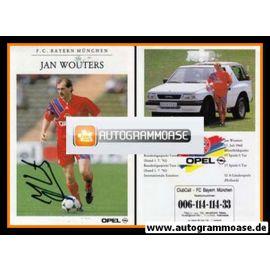 Autogramm Fussball | FC Bayern München | 1992 | Jan WOUTERS