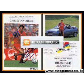 Autogramm Fussball   FC Bayern München   1992   Christian ZIEGE