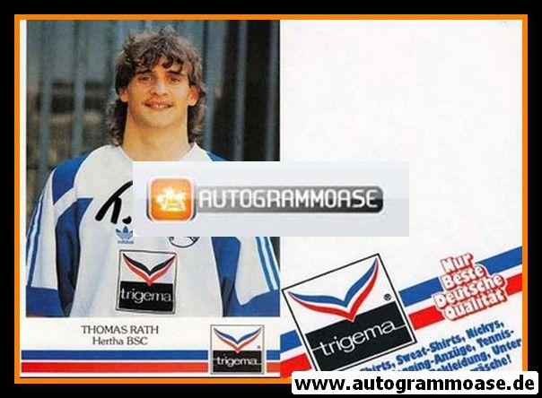 Autogramm Fussball | Hertha BSC Berlin | 1991 | Thomas RATH
