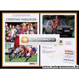 Autogramm Fussball   FC Bayern München   1994   Christian NERLINGER