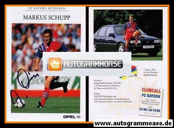 Autogramm Fussball   FC Bayern München   1994   Markus SCHUPP