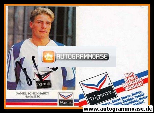 Autogramm Fussball | Hertha BSC Berlin | 1991 | Daniel SCHEINHARDT
