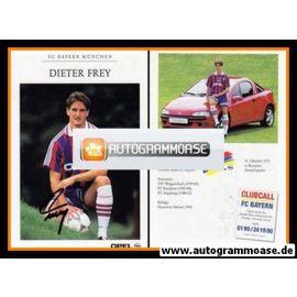 Autogramm Fussball | FC Bayern München | 1995 | Dieter FREY