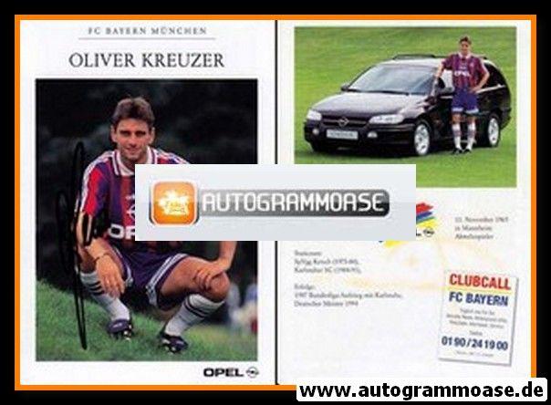 Autogramm Fussball | FC Bayern München | 1995 | Oliver KREUZER