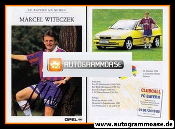 Autogramm Fussball | FC Bayern München | 1995 | Marcel WITECZEK