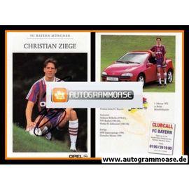 Autogramm Fussball   FC Bayern München   1995   Christian ZIEGE