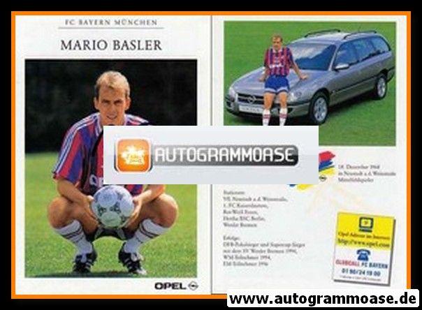 Autogramm Fussball   FC Bayern München   1996   Mario BASLER