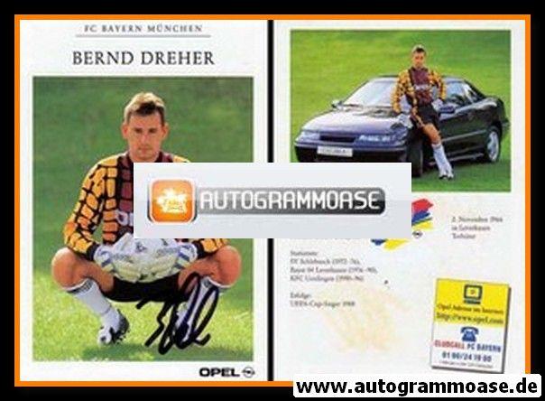 Autogramm Fussball | FC Bayern München | 1996 | Bernd DREHER