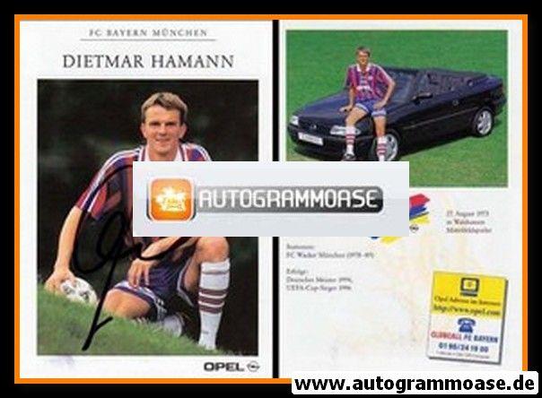 Autogramm Fussball | FC Bayern München | 1996 | Dietmar HAMANN