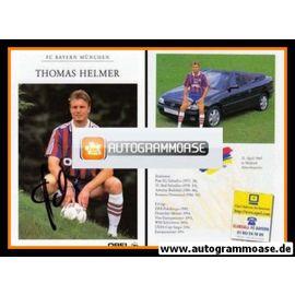 Autogramm Fussball | FC Bayern München | 1996 | Thomas HELMER